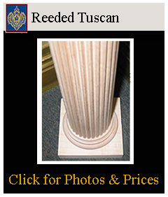 tuscan reeded columns